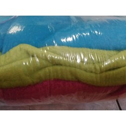 Balíček zbytků - Micro fleece antipilling, cca 0,3 kg