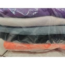 Balíček zbytků - Micro fleece antipilling, cca 1,6 kg