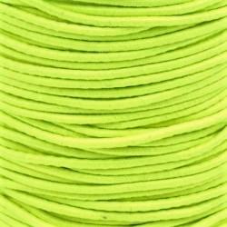 Pruženka, guma - kulatá, NEON žlutá 1108, průměr 3 mm, 1 m
