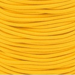 Pruženka, guma - kulatá, vajíčkově žlutá 1376, průměr 3 mm, 1 m