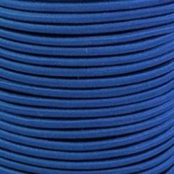 Pruženka, guma - kulatá, královsky modrá 4657, průměr 3 mm, 1 m