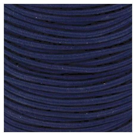 Pruženka, guma - kulatá, tmavě modrá 4840, průměr 3 mm, 1 m