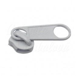 Jezdec k metrážovým spirálovým zipům - 3 mm, 1 ks