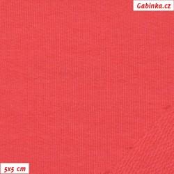 Teplákovina s EL - růžová, A - Paradise pink, šíře 165 cm, 10 cm, TEL-1117