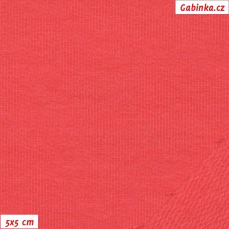 Teplákovina s EL, růžová - Paradise pink, 5x5cm