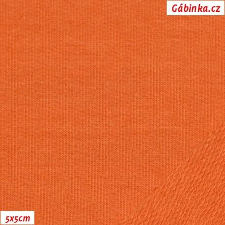 Teplákovina s EL, oranžová, 5x5cm
