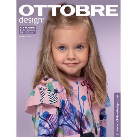 Časopis Ottobre design - 2018/6, Kids, zimní vydání, titulní strana