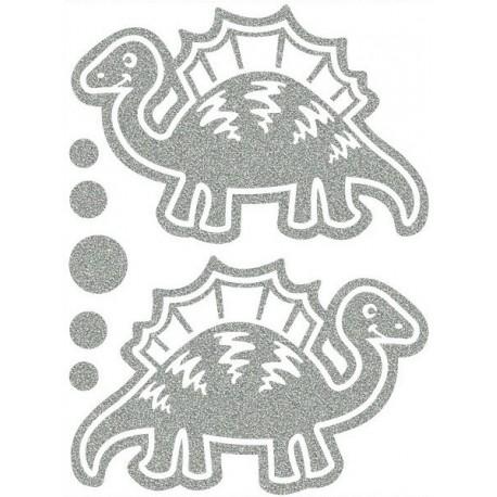 Reflexní nažehlovací potisk, Dinosauři III