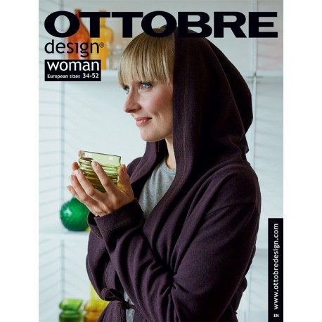 Časopis Ottobre design - 2018/5, Woman, podzim/zima, titulní strana