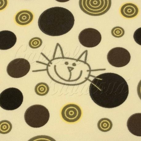 Šusťák, HF, kočárkový - Kočky na smetanové