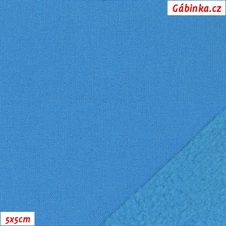 Softshell zimní, tmavý tyrkys SOFT 570, 5x5 cm