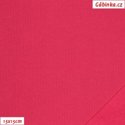Teplákovina počesaná - růžová B-011, šíře 180 cm, 10 cm