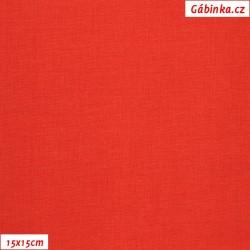 Plátno vánoční - Jasně červené, šíře 140 cm, 10 cm