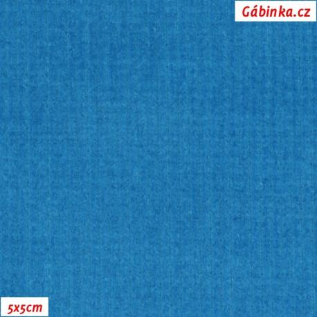 Prací kord, tyrkysový, pohled 5x5 cm