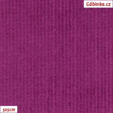 Prací kord, fialový, pohled 5x5 cm
