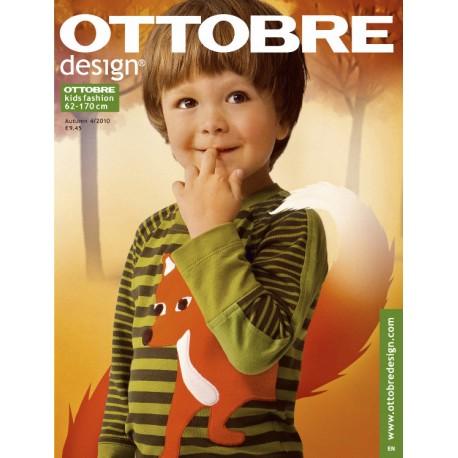 Časopis Ottobre design - 2010/4, Kids, podzimní vydání, titulní strana