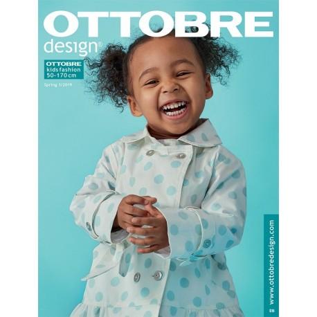 Časopis Ottobre design - 2019/1, Titulní stránka