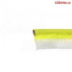 Paspulka neónová žlutá - šíře 10 mm, 1 m