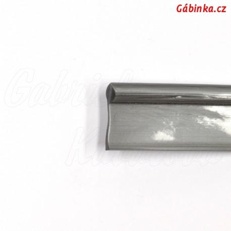 Paspulka PVC šedá - šíře 10 mm