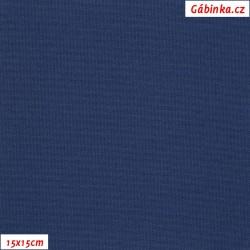 Kočárkovina, Tmavě modrá, MAT 261, šíře 160 cm, 10 cm, Atest 1