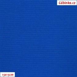 Kočárkovina, Královsky modrá, MAT 281, šíře 160 cm, 10 cm, Atest 1