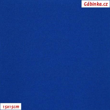 Kočárkovina, modrá, MAT 295, 15x15cm
