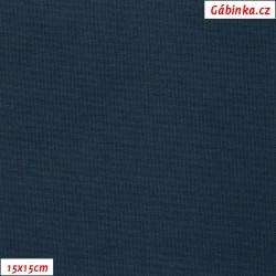 Kočárkovina MAT 311 - Modrá, šíře 160 cm, 10 cm, Atest 1