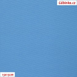 Kočárkovina, modrá, MAT 542, šíře 160 cm, 10 cm, Atest 1