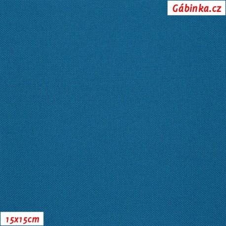 Kočárkovina, Petrolejově modrá, MAT 444, 15x15cm