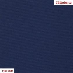 Kočárkovina, Modrá, MAT 296, šíře 160 cm, 10 cm, Atest 1