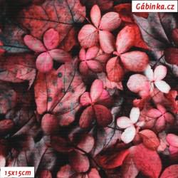 Kočárkovina Premium, Purpurové listy, šíře 157 cm, 10 cm