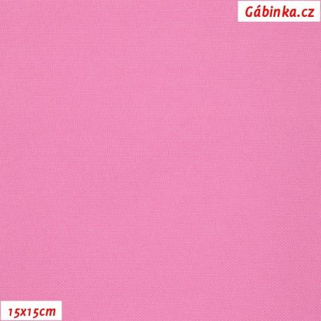 Kočárkovina, Růžová, MAT 589, 15x15cm