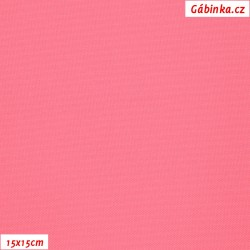 Kočárkovina, Lososově růžová, MAT 505, 15x15cm