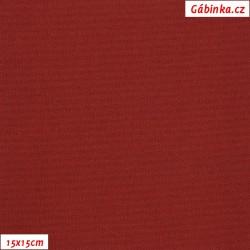 Kočárkovina, Tmavě červená - bordó, MAT 148, šíře 160 cm, 10 cm, Atest 1