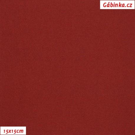 Kočárkovina, Tmavě červená - bordó, MAT 148, 15x15cm