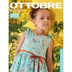 Časopis Ottobre design - 2019/3, Kids, letní vydání, Titulní strana