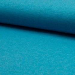 Úplet BA-PES-EL, Tyrkysový melír b. 004, ATEST 2, šíře 150 cm, 10 cm