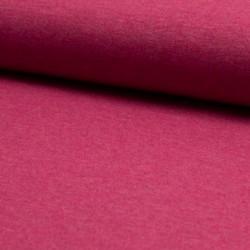 Úplet BA-PES-EL, Tmavě růžový melír b. 017, ATEST 2, šíře 150 cm, 10 cm