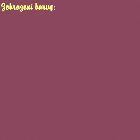 Látka plyš - barva červeno světle fialová