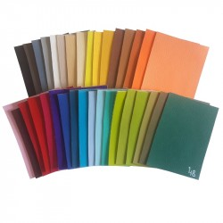 Vzorník - Koženky SOFT 35 barev, 1 ks