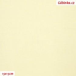 Plátno vánoční - Smetanové, šíře 140 cm, 10 cm