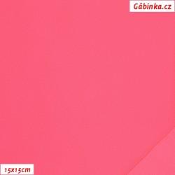 Zimní softshell - 10000/3000, NEON růžový SOFT 883, 15x15 cm