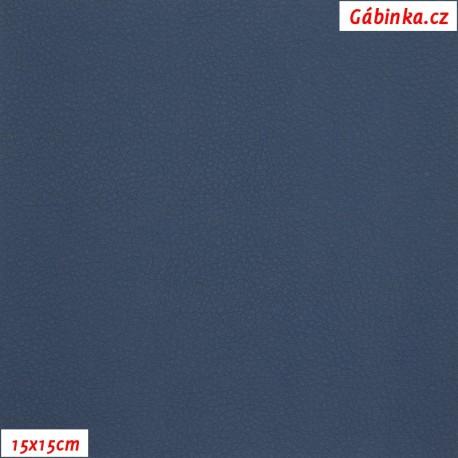 Koženka, tm. modrá, SOFT 23, 15x15cm