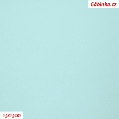 Koženka, sv. zelená, SOFT 224, 15x15cm