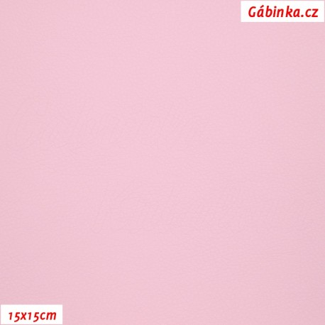 Koženka, sv. růžová, SOFT 238, 15x15cm