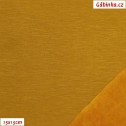 Warmkeeper MODAL - Hořčicový, šíře 145 cm, 10 cm