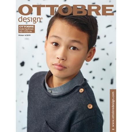 Časopis Ottobre design - 2019/6, Kids, zimní vydání, titulní strana