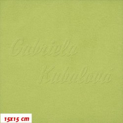 Microfleece antipilling 371 - Zelený, šíře 140-155 cm, 10 cm