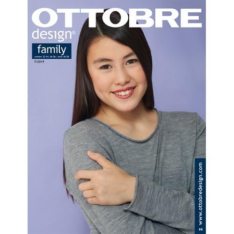 Časopis Ottobre design - 2019/7, Family - titulní strana