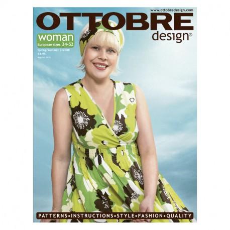 Časopis Ottobre design - 2008/2, Woman, jaro/léto - titulní strana